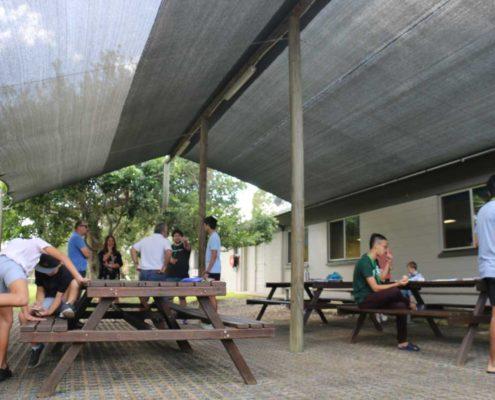 outdoor seating lennox head